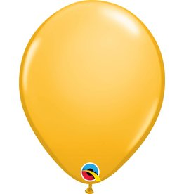"11"" Goldenrod Latex Balloon"