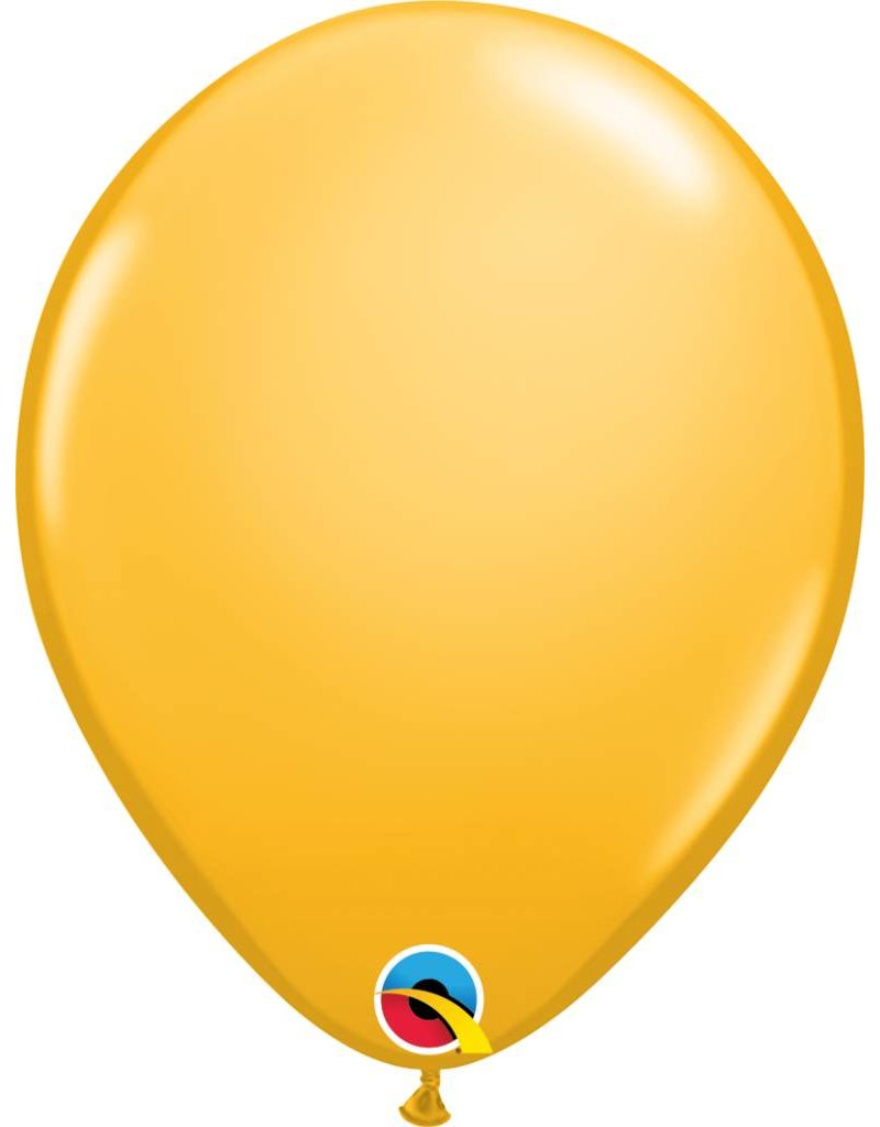 "11"" Goldenrod Latex Balloon (Without Helium)"