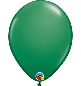 "11"" Green Qualatex Latex Balloon"