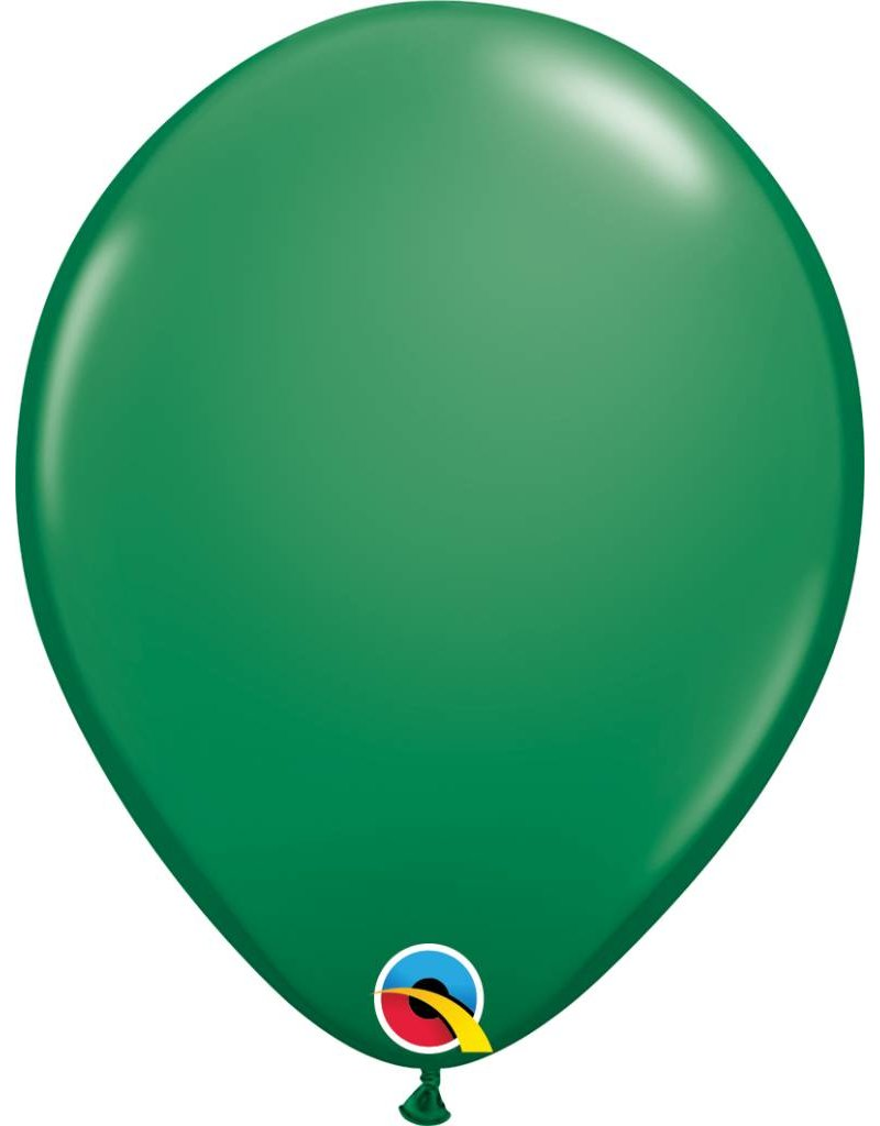 "11"" Green Latex Balloon (Without Helium)"