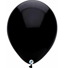 "Funsational 12"" Black Balloons (50)"