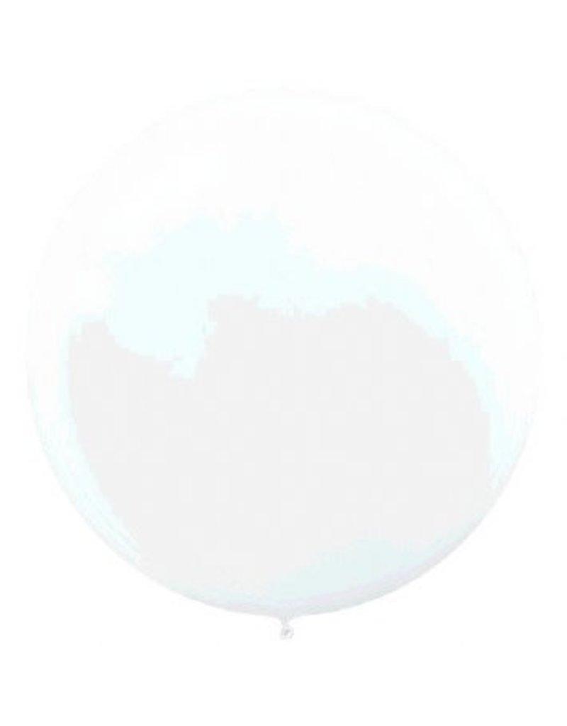 """24"""" White Balloon (With Helium)"""