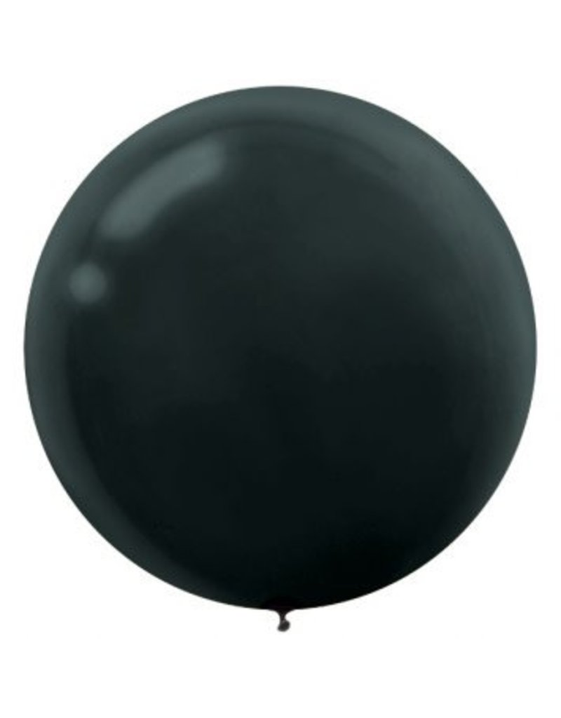 """24"""" Black Balloon (With Helium)"""
