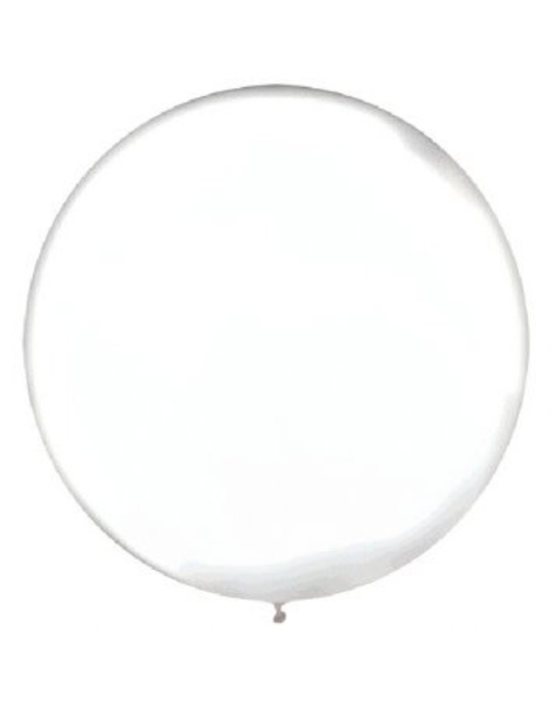 "24"" Clear Balloon (With Helium)"