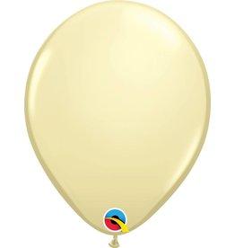 "11"" Ivory Silk Latex Balloon Uninflated"