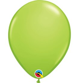 "11"" Lime Green Latex Balloon (Without Helium)"