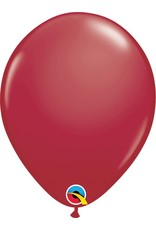 """11"""" Maroon Latex Balloon (Without Helium)"""