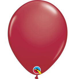 "11"" Maroon Latex Balloon (Without Helium)"