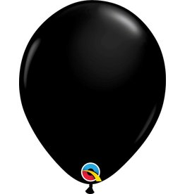 "11"" Onyx Black Latex Balloon (Without Helium)"