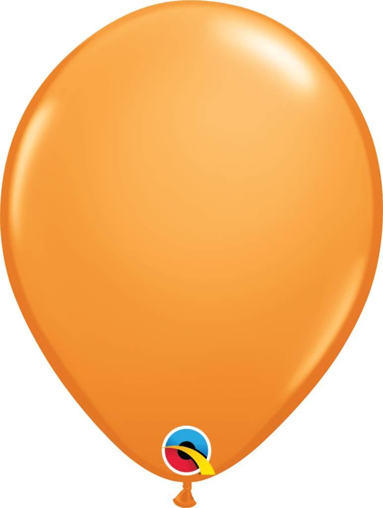 "11"" Orange Latex Balloon Uninflated"