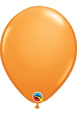 "11"" Orange Latex Balloon (Without Helium)"