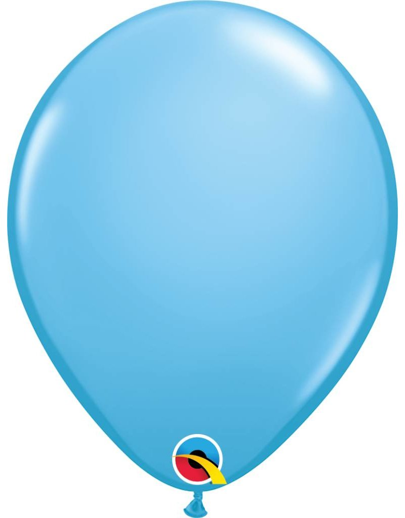 """11"""" Pale Blue Latex Balloon (Without Helium)"""