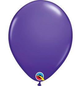 """11"""" Purple Violet Latex Balloon (Without Helium)"""