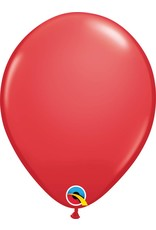 "11"" Red Latex Balloon (Without Helium)"