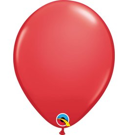 """11"""" Red Latex Balloon (Without Helium)"""
