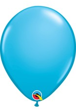 "11"" Robin's Egg Blue Latex Balloon (Without Helium)"