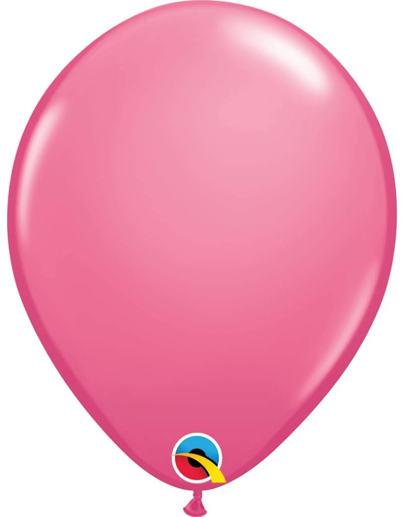 "11"" Rose Latex Balloon (Without Helium)"