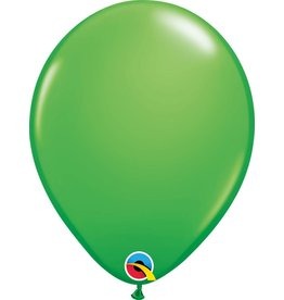 """11"""" Spring Green Latex Balloon (Without Helium)"""