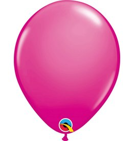 """11"""" Wildberry Latex Balloon (Without Helium)"""