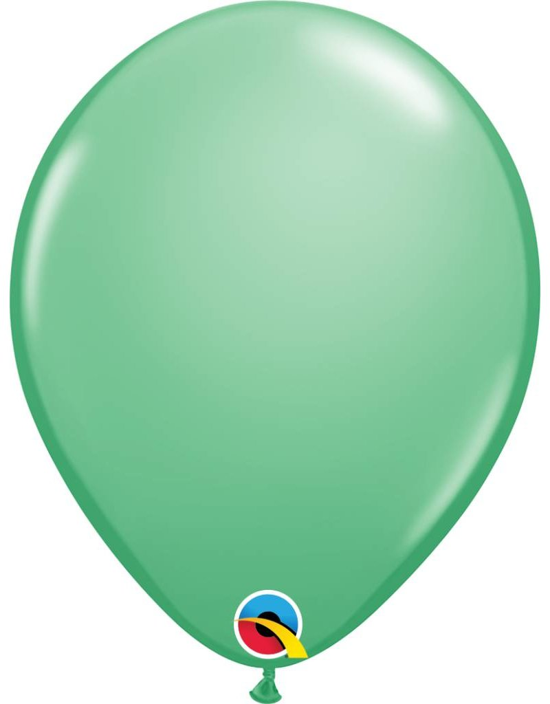 """11"""" Winter Green Latex Balloon (Without Helium)"""