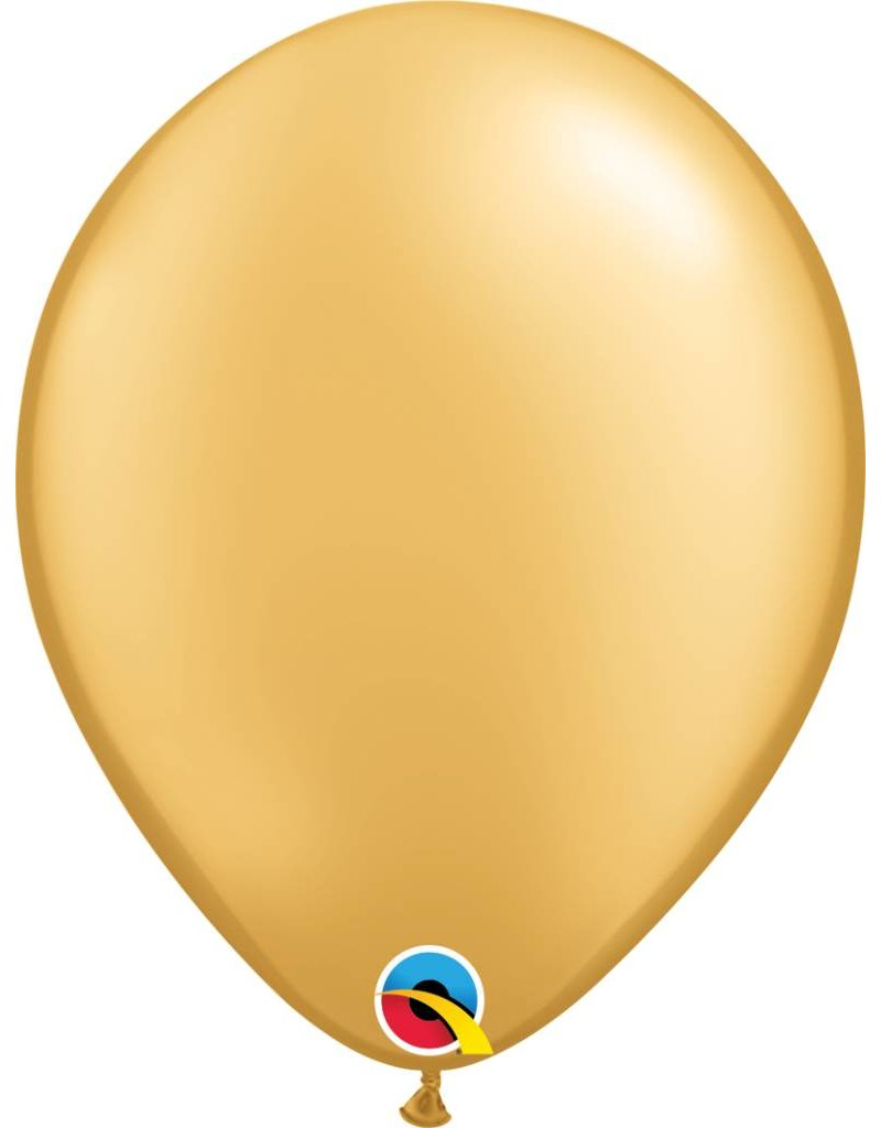 "11"" Gold Latex Balloon (Without Helium)"