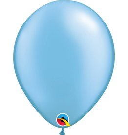 "11"" Pearl Azure Latex Balloon (Without Helium)"