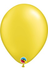 """11"""" Pearl Citrine Yellow Latex Balloon (Without Helium)"""
