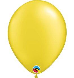 "11"" Pearl Citrine Yellow Latex Balloon Uninflated"