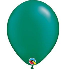 "11"" Pearl Emerald Green Latex Balloon Uninflated"