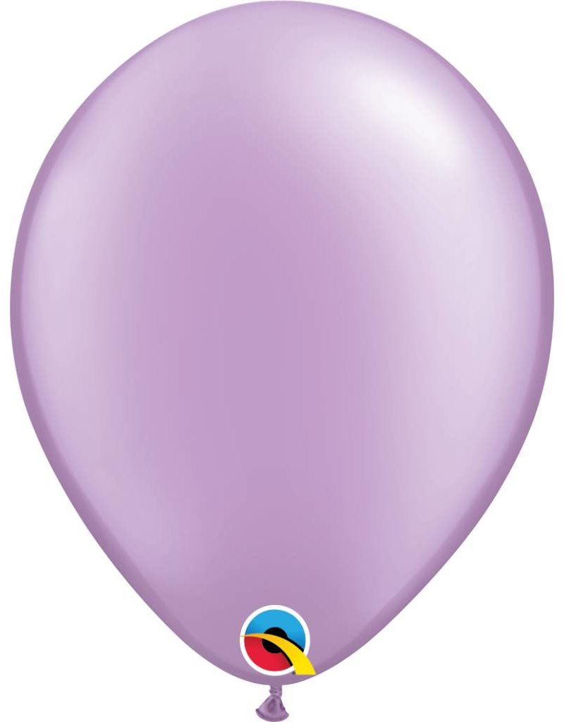 """11"""" Pearl Lavender Latex Balloon (Without Helium)"""