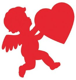 Glossy Paper Cupid