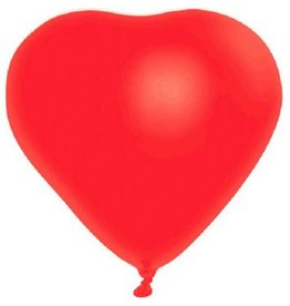 Heart-Shaped Latex Balloon
