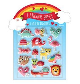 Character Puffy Stickers