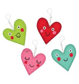 Plush Heart Keychain (4)