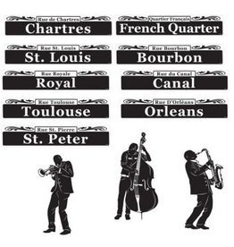 Mardi Gras Bourbon Street Cutouts (12)