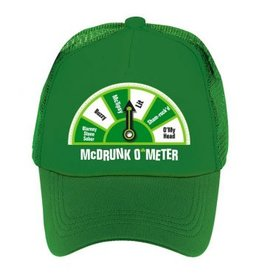 St. Patrick's Day McDrunk O'Meter Hat