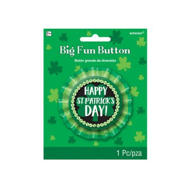St. Patrick's Day Big Fun Button