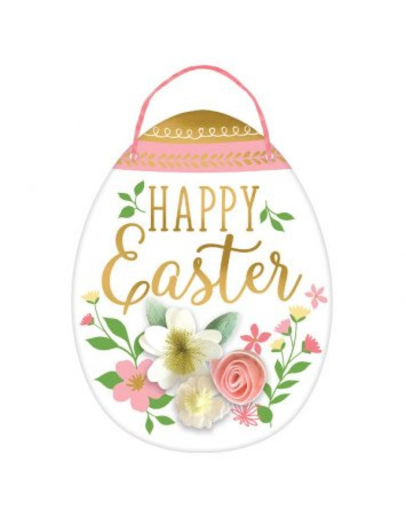 Easter Egg Sign