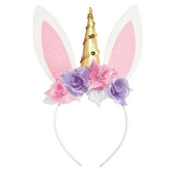 Unicorn Bunny Headband
