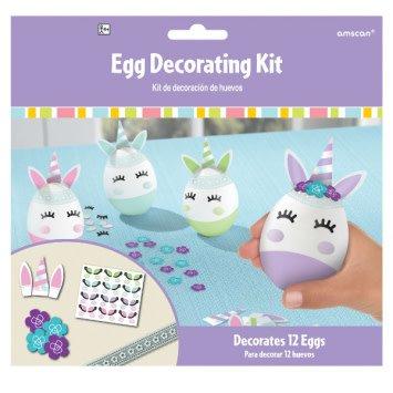 Egg Decorating Kit - Unicorn