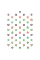 Spring Super Value Mini Glitter Cutouts (50)