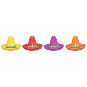 Mini Sombrero Assortment (8)