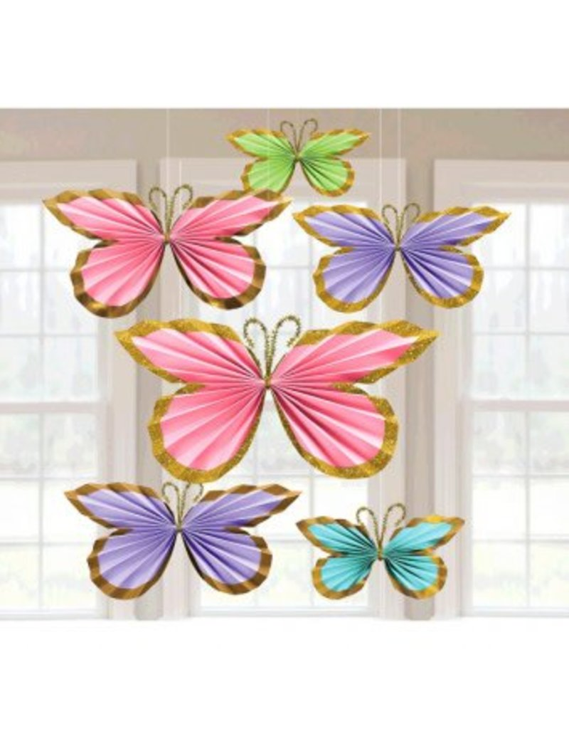 Butterfly Fan Decorations