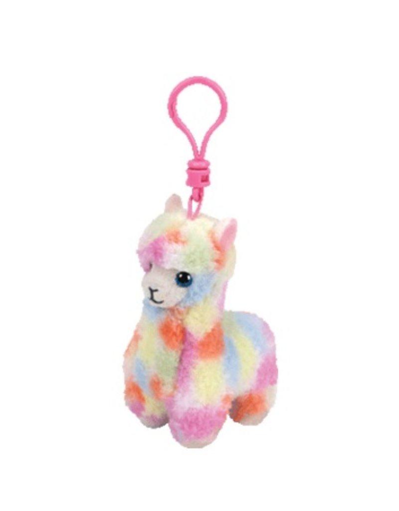 Beanie Boos Llama Lola Keychain