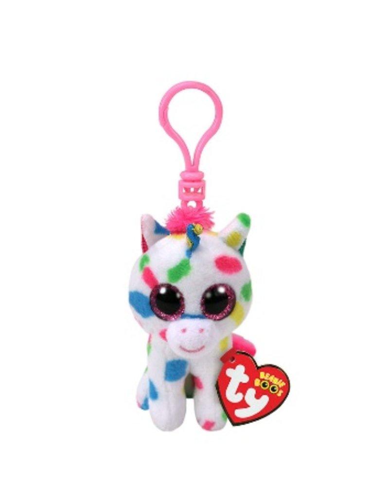 Beanie Boos Unicorn Harmonie Keychain