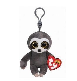 Beanie Boo Sloth Dangler Keychain