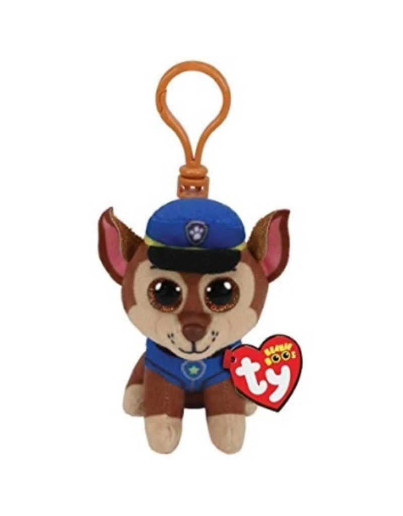 Beanie Boos Paw Patrol Chase Keychain