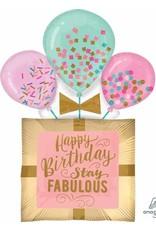 """Fabulous Birthday Gift 32"""" Mylar Balloon"""