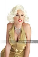 Classic Marilyn Monroe Platinum Blonde Wig