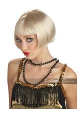 Flirty Flapper Blonde Wig